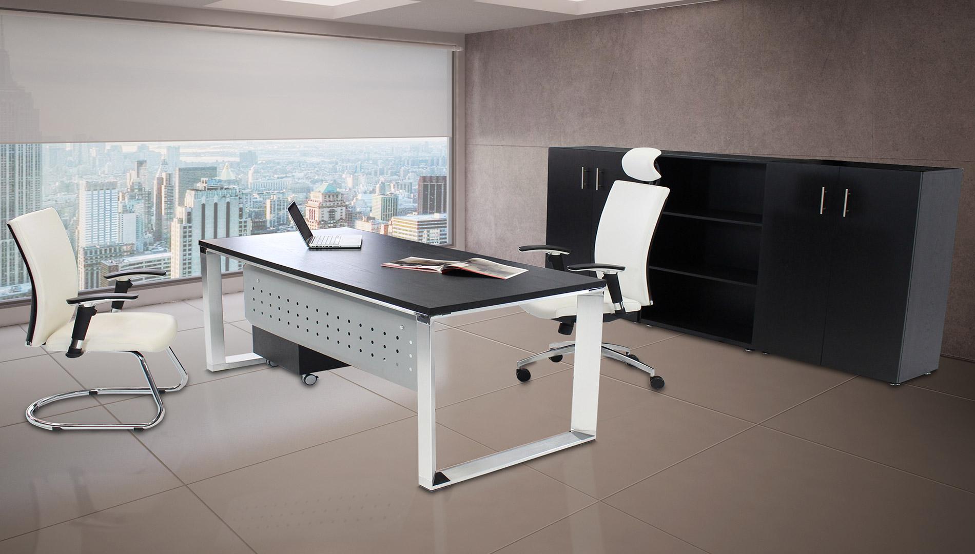 Cromadora delgado for Sillones para escritorios oficina